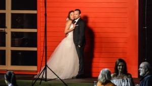 Свадьба Агнии Дитковските и Алексея Чадова: фото и видео