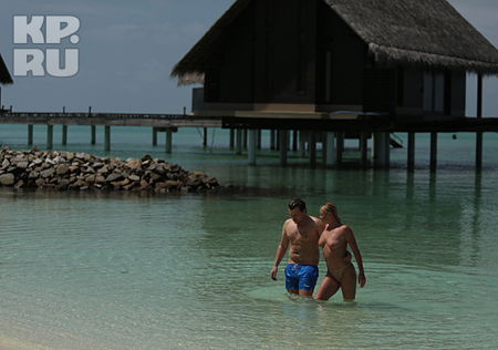 Волочкова и Басков на Мальдивах: скоро свадьба?