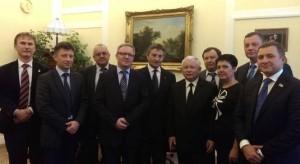 Украинские депутаты встретились с политиками ПиС