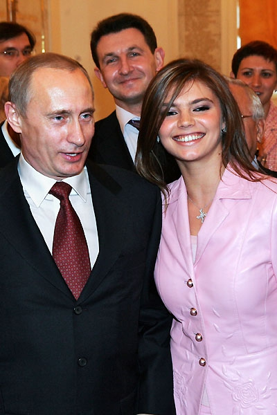 Венчание Путина и Кабаевой: фото